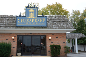 Chespeake Bank & Trust Morgnec Branch