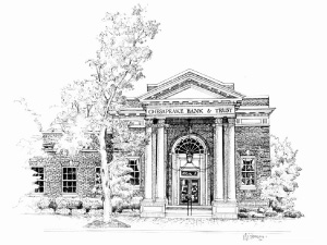 Chesapeake Bank and Trust sketch